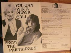 The Partridge Family, David Cassidy, Shirley Jones, Two Page Vintage Clipping