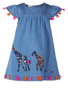 Baby Terri Tassel Denim Dress