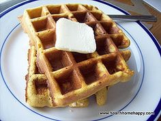 Coconut Flour Waffle Recipe  Makes approximately 8 waffles, I usually double this recipe so that I have leftovers to use as sandwich bread...