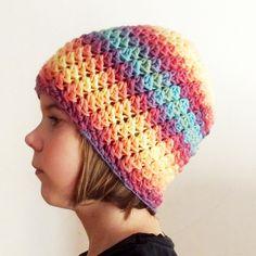 Duhová Zima.. – Jak háčkovat Knitted Hats, Crochet Hats, Beanie, Knitting, Barn, Fashion, Caps Hats, Knitting Hats, Moda