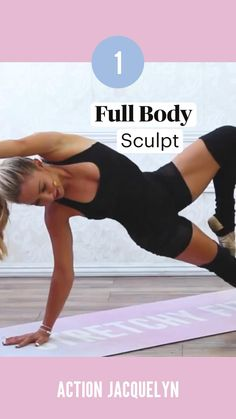 Full Body Workout Routine, Leg Workout At Home, Gym Workout For Beginners, Fitness Workout For Women, Workout Videos, Ballet Barre Workout, Wellness Fitness, Easy Workouts, Lean Leg Exercises