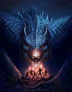 The Dragon Lords False Idols Cover Illustration by CrystalSully.deviantart.com on @DeviantArt