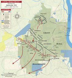 Battle of Shiloh - April 7, 1862