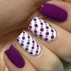 26 Mejores Imágenes De Uñas Moradas Y Lilas Purple Nails Pretty