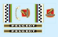 Peugeot Decals Peugeot Peugeot Bike Bicycle