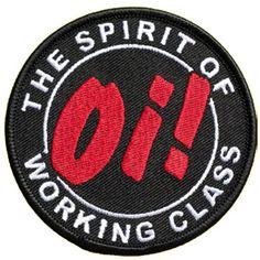 Spirit of working class skinhead patch Skinhead Men, Skinhead Reggae, Rockabilly Men, The Distillers, Social Distortion, Rude Boy, Cool Patches, Northern Soul, Sick Kids