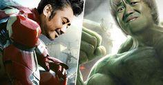 Alguna vez te has preguntado o imaginado ¿Cómo se verían los Avengers si sus actores fueran chinos? Pues aquí tenemos las imágenes que muestran como se verían.