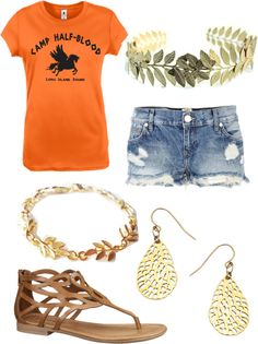 """My Demigod Outfit: Percy Jackson Style"" by lois-i ❤ liked on Polyvore"