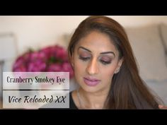 Cranberry Smokey Eye Tutorial with the Vice XX Palette - YouTube