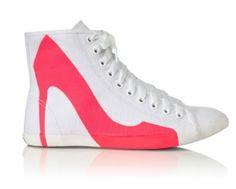 On the wishlist <3 Pink Stiletto Sneaker by Moda Operandi