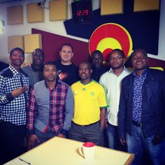 Grammy award winning group Ladysmith Black Mambazo are in studio to chat with Cameron about their super awesome collaboration with Johnny Clegg.