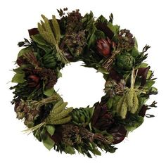 Have to have it. Floral Treasure Culinary Delight 18 in. Wreath $64.99