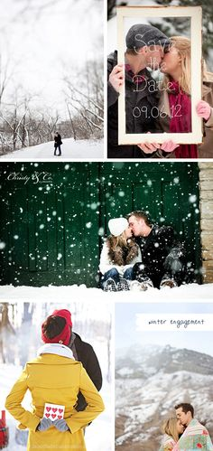 winter engagement inspiration //