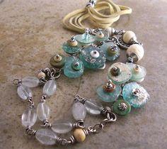 Agea - Ancient Roman Glass Necklace Tutorial