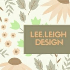 Really love what LeeLeighDesign is doing on Etsy.