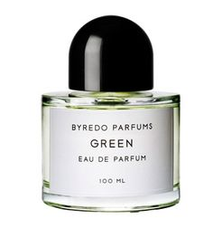[GREEN] Green by Byredo is a Floral Green fragrance for women and men. Green was launched in 2008. Top notes are petitgrain and sage; middle notes are jasmine, rose, honeysuckle and violet; base notes are tonka bean, musk and almond.