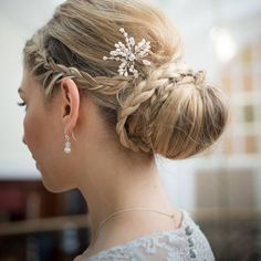 Wedding Hairstyles from Liberty in Love. To see more: http://www.modwedding.com/2014/07/15/wedding-hairstyles-liberty-love/ #wedding #weddings #hairstyle