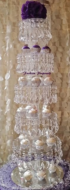 Hey, I found this really awesome Etsy listing at https://www.etsy.com/listing/180879199/sale-bling-cupcake-tower-6-tiers-cupcake