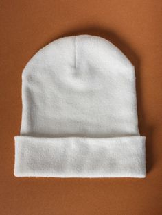 Cashmere Tova Hat in White by Sophia Costas