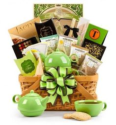 Traditional Tea Gift Basket  A Perfect Gift Basket for my Tea Loving Mom <3