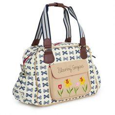 Women's Handbag: Navy Blooming Gorgeous Changing Bag