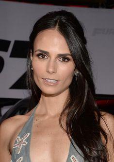 Jordana Brewster Half Up Half Down Hairstyle for Women