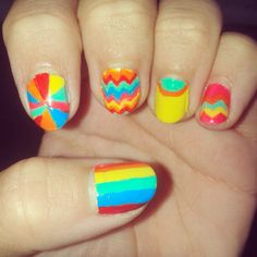#nailart #colorfull