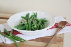 Blanching green beans brings out the natural sweetness present in the vegetable…