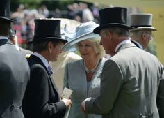 Camilla, Duchess of Cornwall and Charles, Prince of Wales attend day one of Royal Ascot at Ascot Racecourse on June 17, 2014 in Ascot, England.