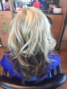 Blonde on top brown underneath | hair | Pinterest | Blondes, Brown ...