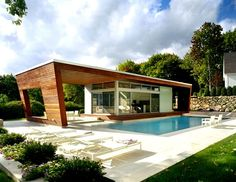 Pool House Challenge. | Pool houses, House and Pool house designs