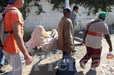 Encontraron a un hombre amarrado a un poste y apuñaleado  http://www.facebook.com/pages/p/584631925064466