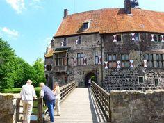 Burg Vischering - Brücke zur Hauptburg