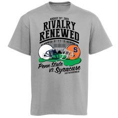 Penn State Nittany Lions vs. Syracuse Orange 2013 Gameday T-Shirt!