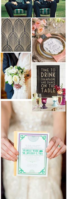 - Bodas Colorín Colorado - Great Gatsby Wedding - Boda Gran Gatsby