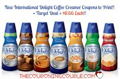 CHEAP International Delights Coffee Creamer! Print the new $1.00/1 coupons and match with a Target sale to pay only $0.66 each!  Click the link below to get all of the details ► http://www.thecouponingcouple.com/new-international-delights-coupons-target-deal-0-66-each/  #Coupons #Couponing #CouponCommunity  Visit us at http://www.thecouponingcouple.com for more great posts!
