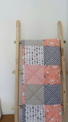 Excited to share the latest addition to my #etsy shop: Modern Baby Quilt, Girl Baby Blanket, Baby Quilt Handmade, Floral Pastel, Pink Peach Quilt, Crib Quilt, Crib Bedding, Blush Sprigs Blooms #housewares #bedroom #bedding #babygirlquilt #girlpatchworkquilt #peachquilt http://etsy.me/2iYAazP