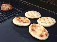 Grillbrot, Grillbeilage, Naan-Brot, Brot vom Grill von Sille TM5 auf www.rezeptwelt.de, der Thermomix ® Community