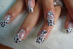 nail art design that can be applied in a minimum point of time. I came up with few and best nail art designs that are way easy to apply in a very short time. Winter nail art designs are sober, decent and a bit subtle. Simple Nail Art Designs, Beautiful Nail Designs, Cute Nail Designs, Beautiful Nail Art, Nail Designs 2014, Cheetah Nail Designs, Check Designs, Hot Nails, Hair And Nails