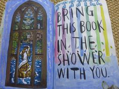 Wreck this journal Bring this book in the shower with you Harry Potter prefects…