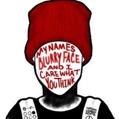 Mis nombres de cara borrosa y me importa lo que piensas