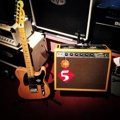 Grayson's Tune Town - Montrose, CA, United States. Fender American Standard Telecaster w/ Tweed Special Run Princeton Reverb!