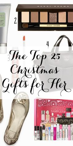 The Top 25 Christmas Gifts for Her!