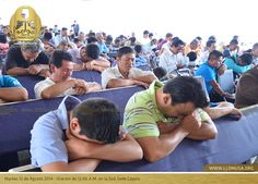 Martes 12 de Agosto 2014 - Oración de 12:00 P.M. en la Subsede Coyula. #SantaConvocacion2014 #lldm #ccbusa #lldmusa