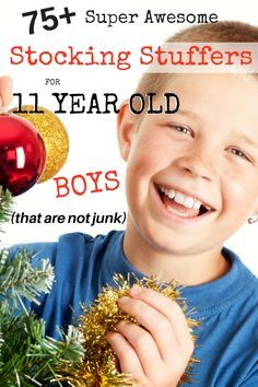 75 unique stocking stuffers for 11 year old boys that are not junk