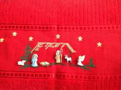 Christmas Nativity, Christmas Cross, Merry Christmas, Christmas Ornaments, Diy And Crafts, Arts And Crafts, Holidays And Events, Cross Stitch, Quilts