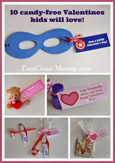 10 Candy Free Valentine Ideas. #3 is my favourite!