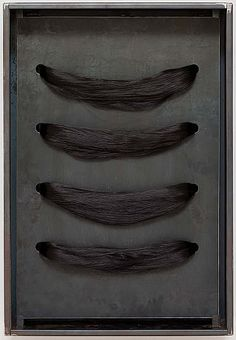 Jannis Kounellis, Untitled (Hair) 2004