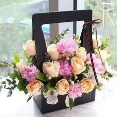 23.5x12x34.5cm Portable Flower Box Packaging Flower - CofBay