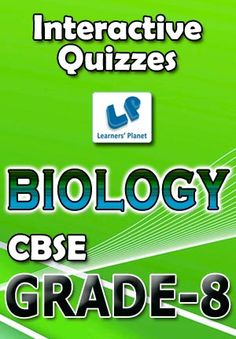 8-CBSE-BIOLOGY Interactive quizzes & worksheets on Cell and cellular structure, Conservation of plants & animals, Crop production & management, Micro organisms-friends & foe, Pollution of air & water, Reaching the age of adolescence, Reproduction in animals and Some natural phenomenon for grade-8 CBSE Biology students. Total Questions : 250+ Pattern of questions : Multiple Choice Questions   PRICE :- RS.61.00